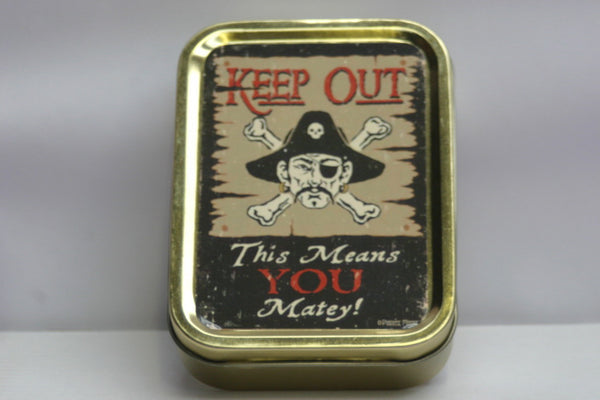 keep-out-this-means-you-matey-pirate-captain-eye-patch-keep-safe-tin-gold-sealed-lid-2oz-tobacco-storage-tin