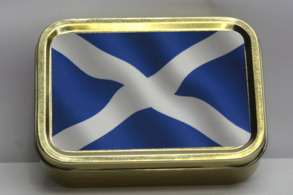 scottish-flag-scotland-st-andrew-blue-and-white-cross-gold-sealed-lid-2oz-tobacco-storage-tin