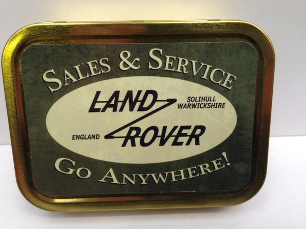 land-rover-logo-badge-green-landy-sales-service-metal-sign-also-available-gold-sealed-lid-2oz-tobacco-storage-tin