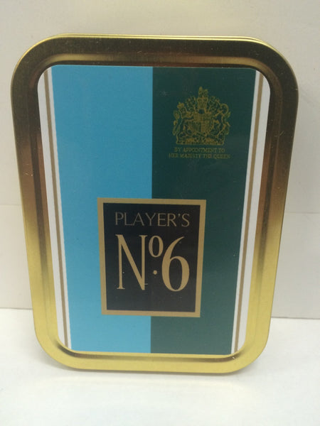 players-number-6-advertising-brand-cigarette-old-retro-vintage-packet-design-gold-sealed-lid-2oz-tobacco-storage-tin