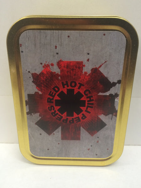 red-hot-chilli-peppers-rock-band-music-record-cigarette-american-logo-design-spray-paint-and-steel-gold-sealed-lid-2oz-tobacco-storage-tin
