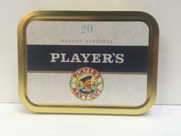 players-navy-cut-retro-advertising-brand-cigarette-old-vintage-packet-design-finest-virginia-20-gold-sealed-lid-2oz-tobacco-storage-tin
