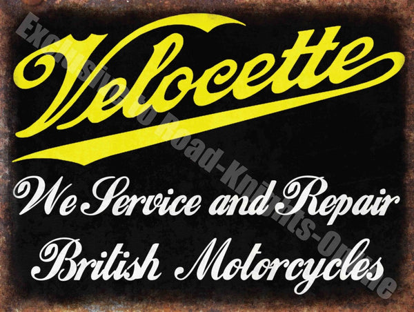 velocette-service-repair-british-motorcycles-vintage-garage-metal-steel-wall-sign