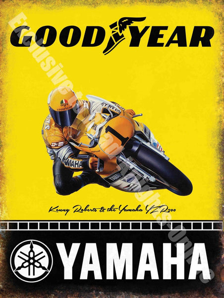 yamaha-goodyear-racing-motorbike-kenny-roberts-metal-steel-wall-sign
