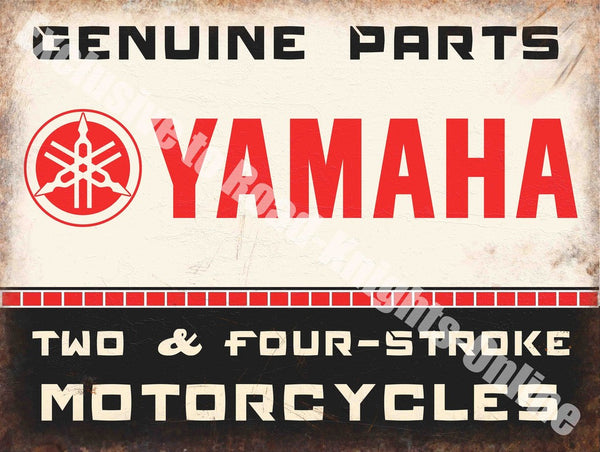 yamaha-genuine-parts-2-4-stroke-motorcycle-engines-motorbike-metal-steel-wall-sign