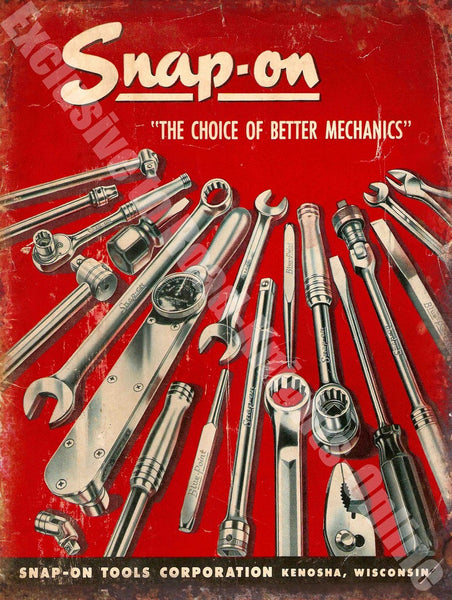 snap-on-tools-the-choice-of-better-mechanics-vintage-garage-advert-metal-steel-wall-sign