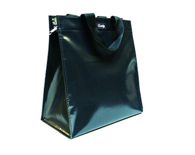 Zipper shopper all black