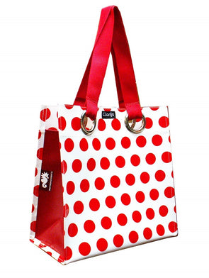 City shopper red dots