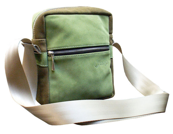 Smallbag leer groen