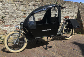 Cargobike tent excellent cabrio UP (kort)