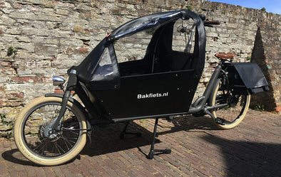 Cargobike cabrio tent lang Up