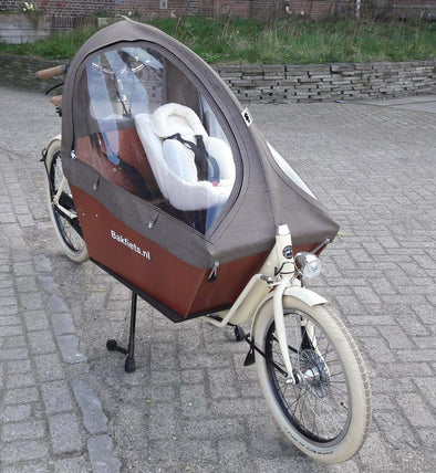 Cargobike tent excellent cabrio (lang - hoog)
