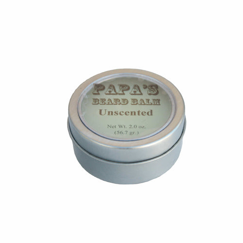 Papa's Beard Balm Unscented - REVIVIFY