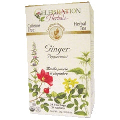 Ginger Peppermint Tea Organic - REVIVIFY