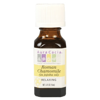 Roman Chamomile in Jojoba Oil