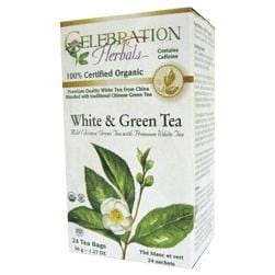 White & Green Tea Organic