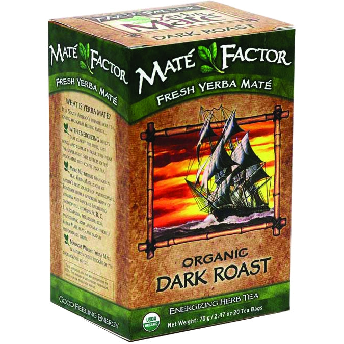 Dark Roast Organic Yerba Mate