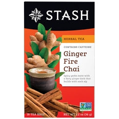 Ginger Fire Chai Tea - REVIVIFY
