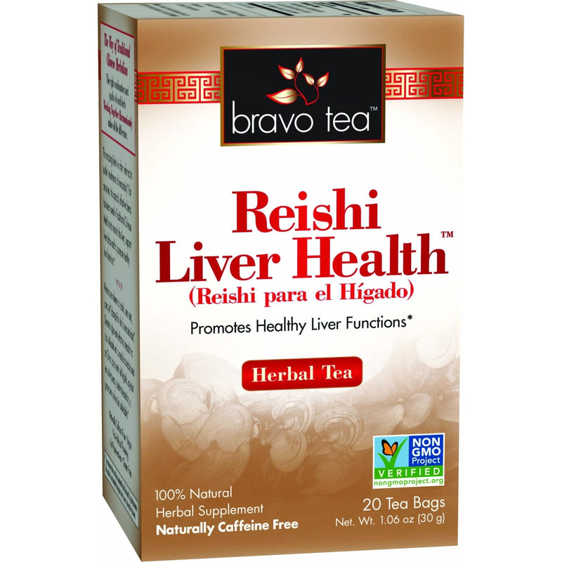 Reishi Liver Health Tea - REVIVIFY