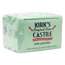 3pak Castile Bar Soap w/ Aloe - REVIVIFY