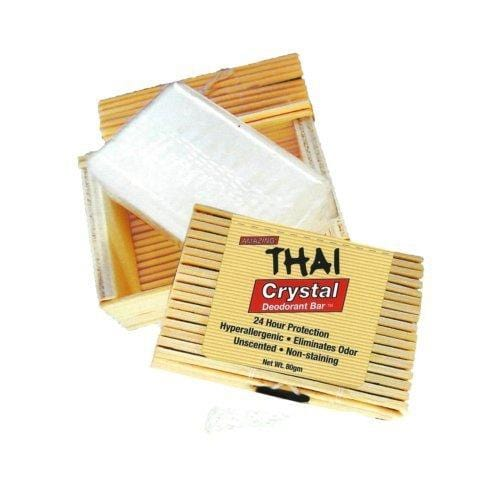 Thai Deodorant Bar in Bamboo Box - REVIVIFY