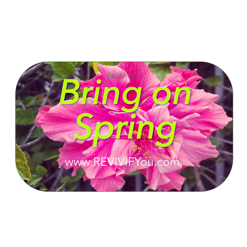 Bring on Spring Gift Card - Green - REVIVIFY