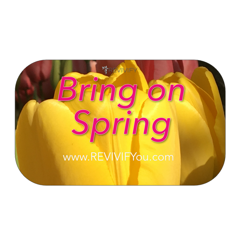 Bring on Spring Gift Card - tulip - REVIVIFY