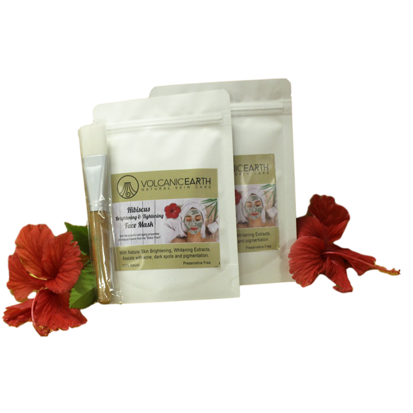 Hibiscus Face Mask - Two Pack