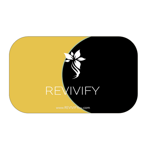 Gift Card - Universal Black and Gold - REVIVIFY
