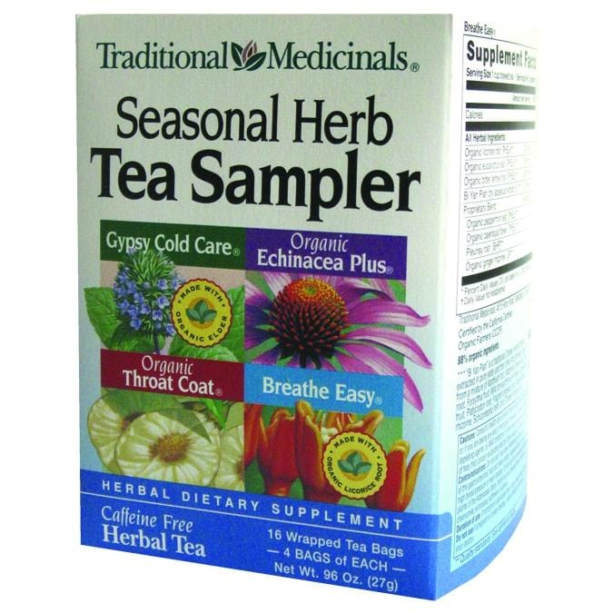 Cold Season Herb Tea Sampler - REVIVIFY