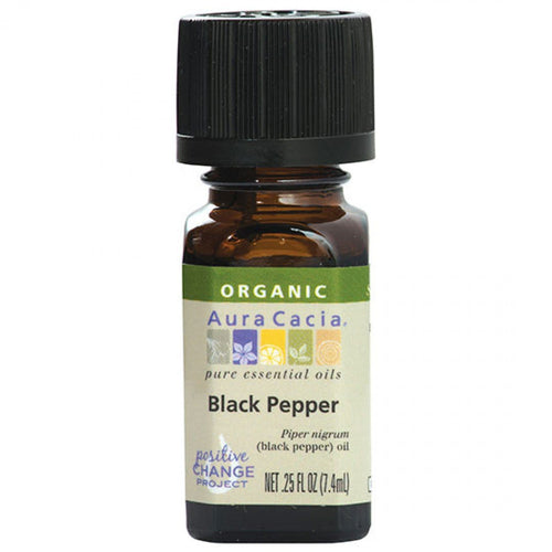 Black Pepper Essential Oil Organic - REVIVIFY