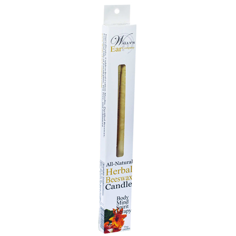 Herbal Beeswax Candles - REVIVIFY