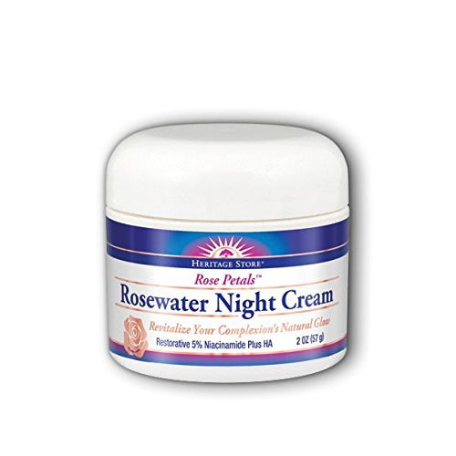 Rose Petals Rosewater Night Cream - REVIVIFY