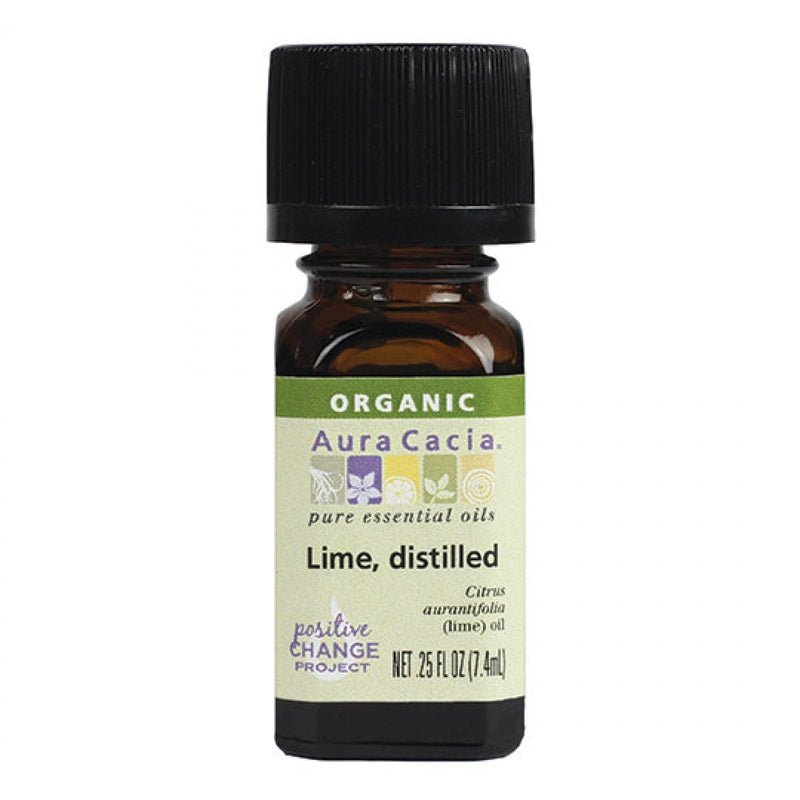 Distilled Lime Essential Oil Organic - REVIVIFY