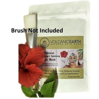 Hibiscus Face Mask - No Brush