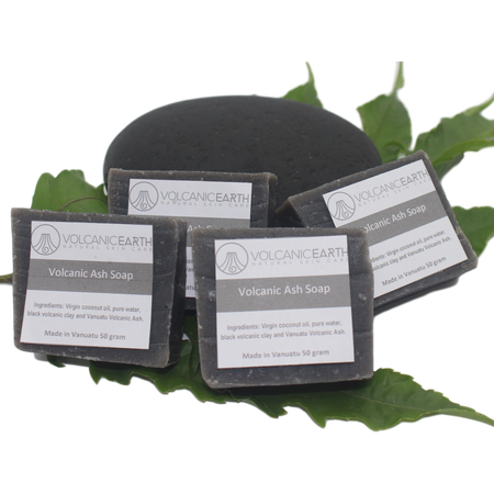 Volcanic Ash -Pack of 4 (small) Soaps
