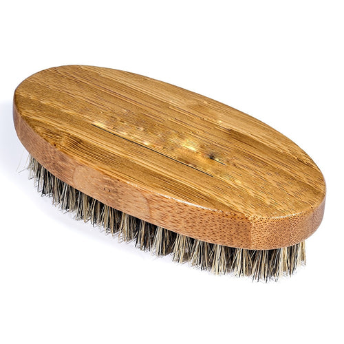 Boar Bristle Beard Brush and Wooden Handmade Comb - REVIVIFY