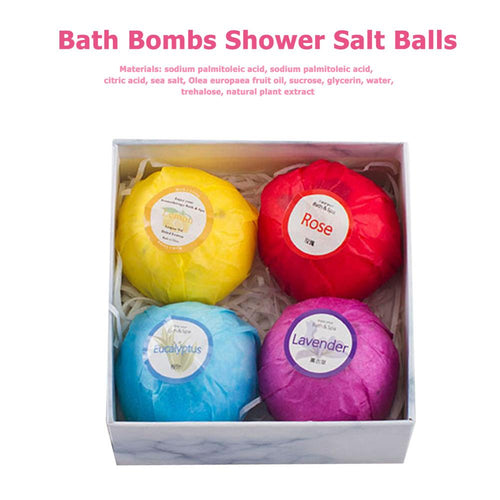 4pcs Natural Bubble Bath Bomb - REVIVIFY