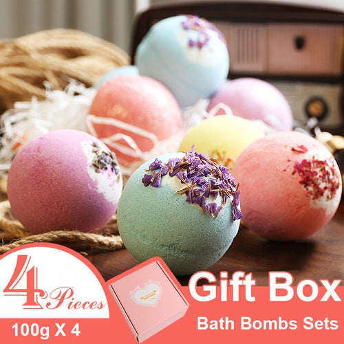 4pieces Bath Bombs Gift Set - REVIVIFY