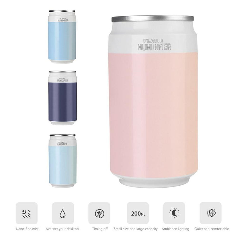 Mini Ultrasonic Air Humidifier For Home or Car - REVIVIFY