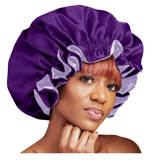 Extra large Satin Lined Bonnet - REVIVIFY