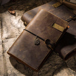 Handmade 100% Vintage Leather Traveler Notebook