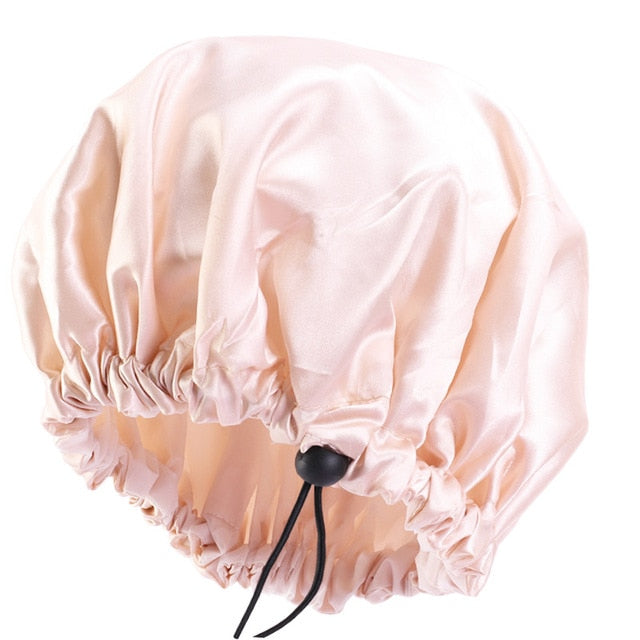 Reversible Satin Bonnet