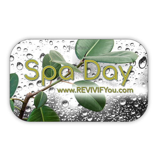 Gift Card - Make it a Spa Day - white - REVIVIFY
