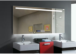 Rectangular LED Wall Mounted Lighted Vanity & Makeup Mirror