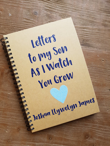 Personalised Lined  A5 Journal