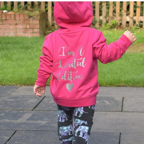 I'm A Limited Edition Pull On Hoodie age 6months - 4 years