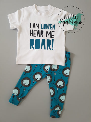 Personalised Hear Me Roar! T-shirt