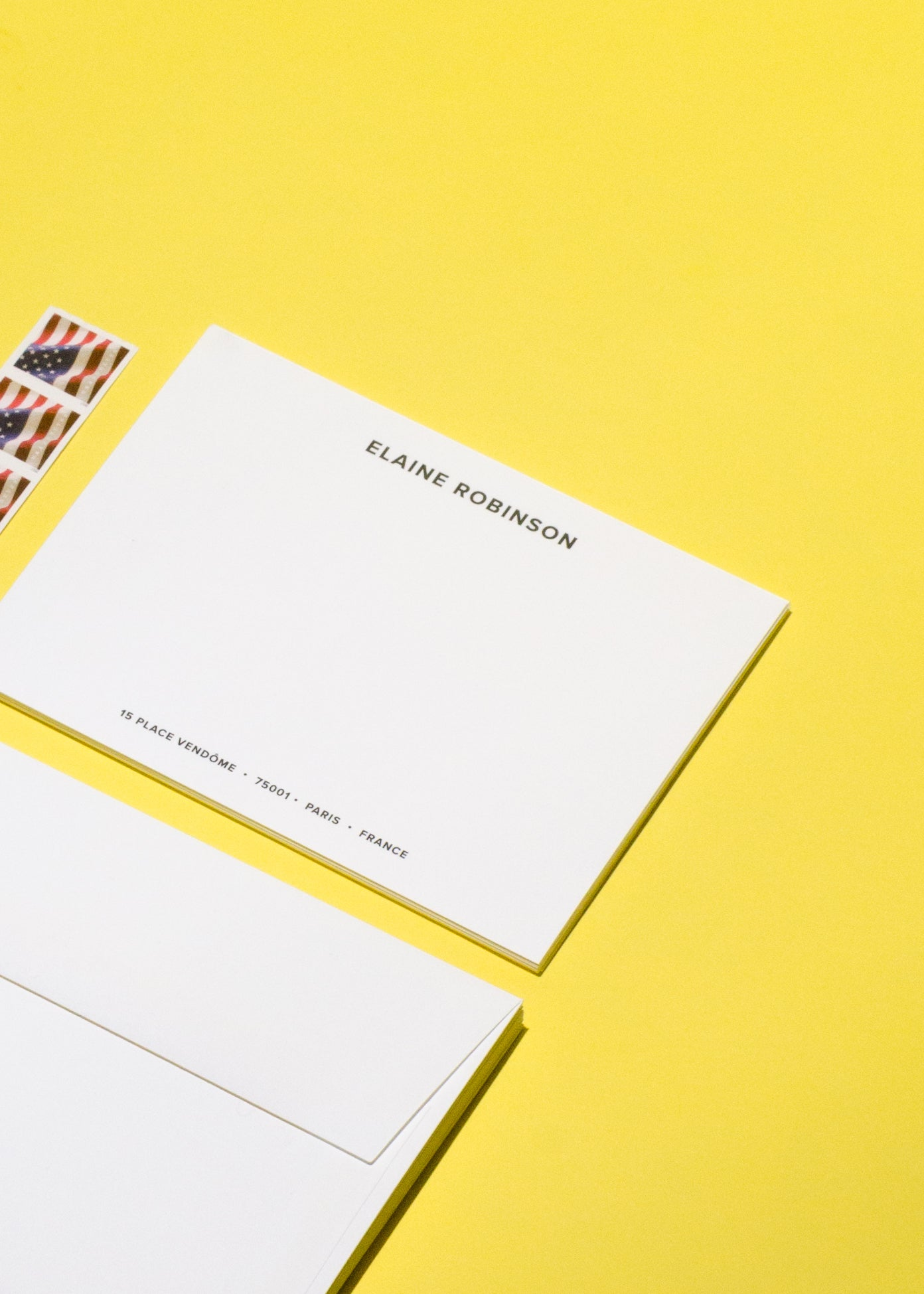 Personalized Name & Address Note Kit