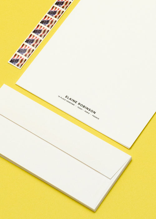 Personalized Name & Address Letter Kit